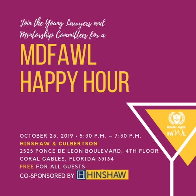 MDFAWL Happy Hour