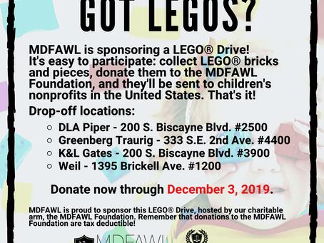 Got Legos?  Donate Now through December 3rd!