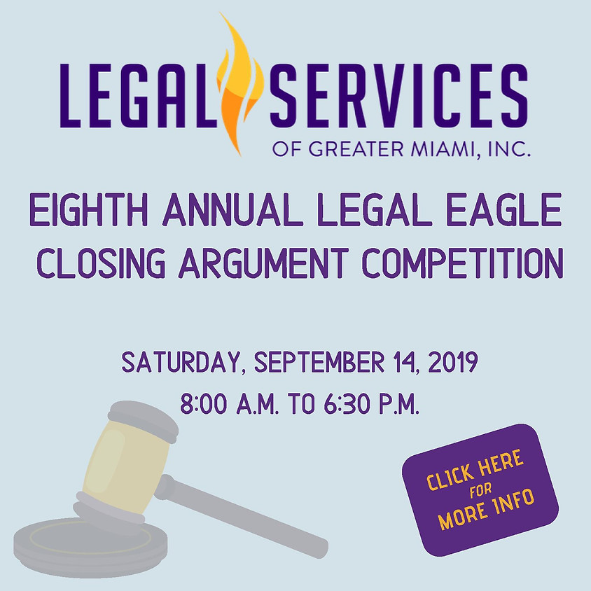 Eighth Annual Legal Eagle Closing Argument Competition