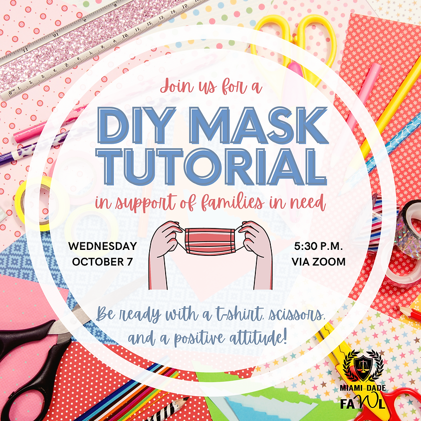 Virtual DIY Mask-Making Event in Support of Families in Need