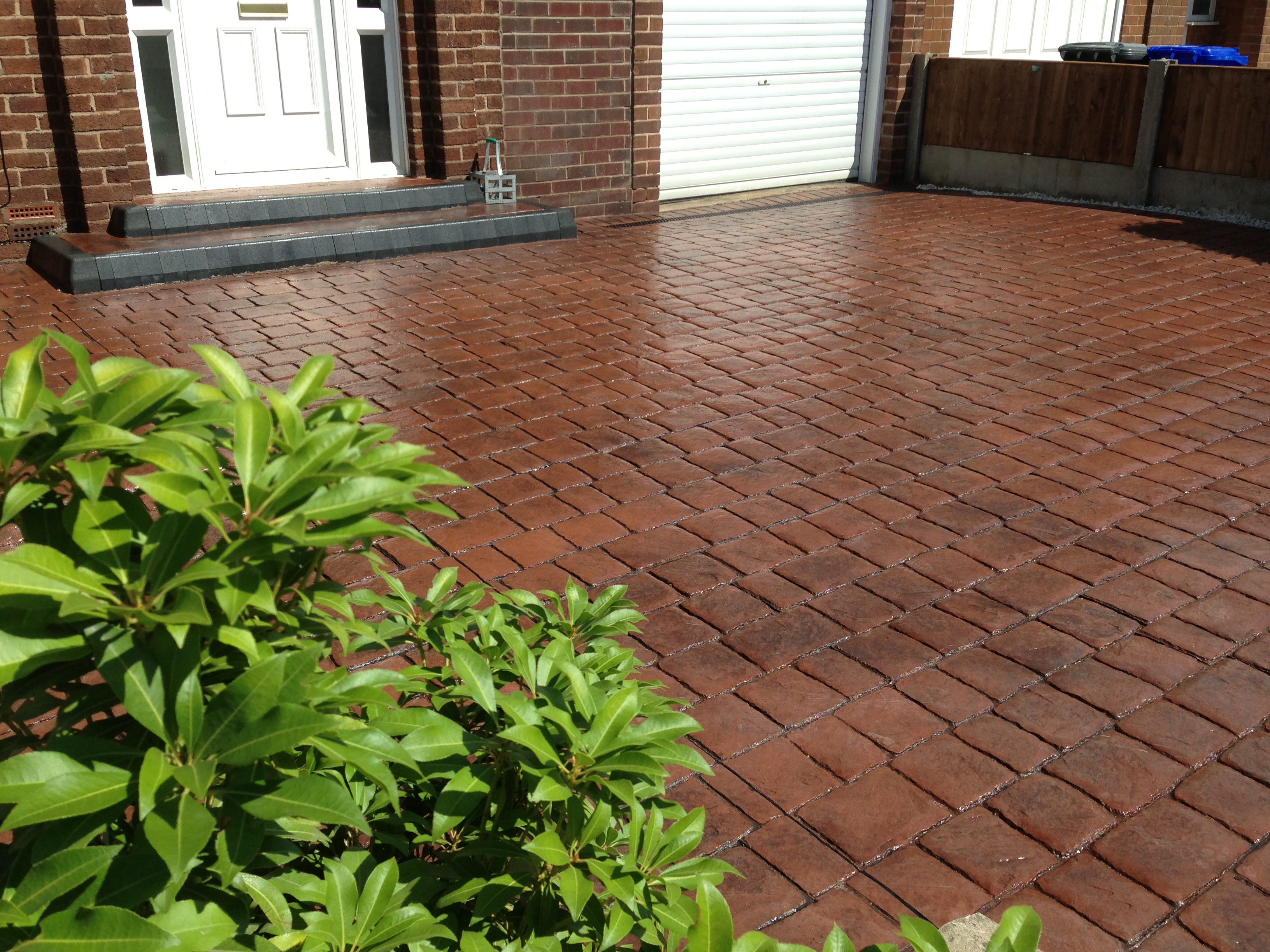 Pattern Imprinted Concrete monton