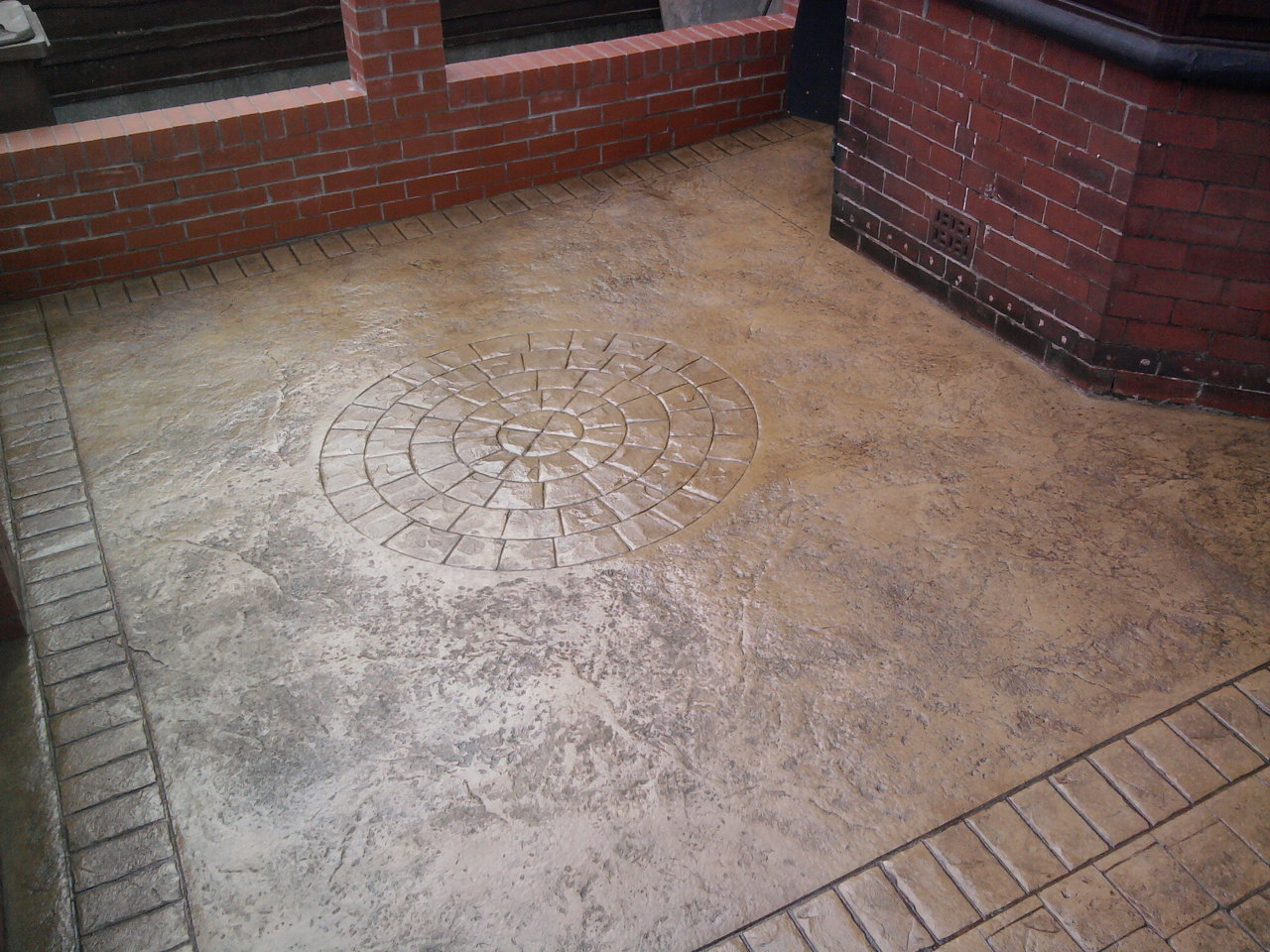 Pattern Imprinted Concrete Salford