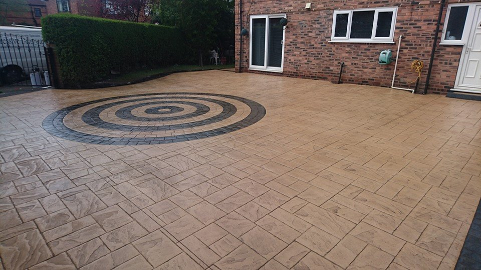 Pattern Imprinted Concrete Stretford