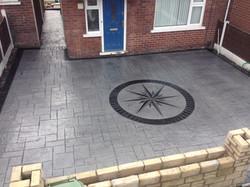 Pattern Imprinted Concrete Ashton