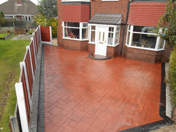 Pattern Imprinted Concrete Clifton