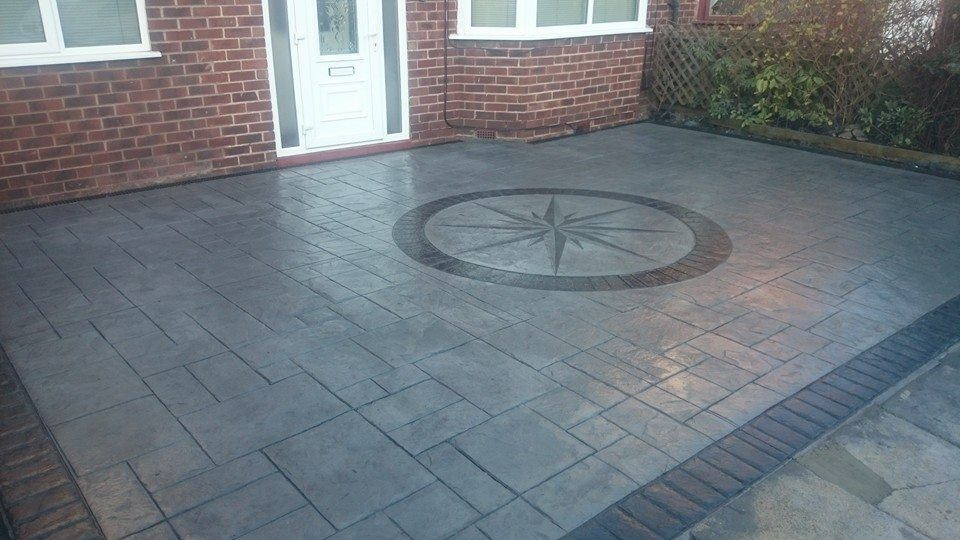 Pattern Imprinted Concrete Didsbury