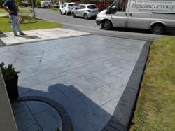 Pattern Imprinted Concrete Walkden