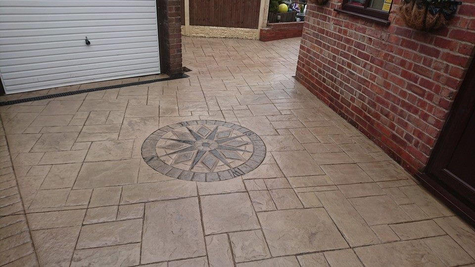 Pattern Imprinted Concrete moston