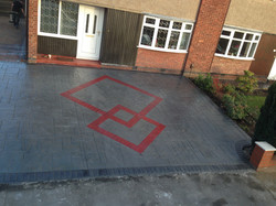 Pattern Imprinted Concrete Bredbury