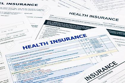 health insurance paperwork. julia websit