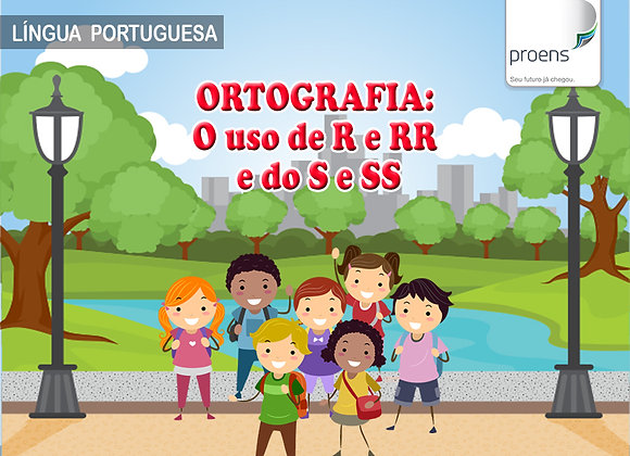 "3º Ano - Língua Portuguesa ""Ortografia: O Uso do R e RR, e do S e SS"""