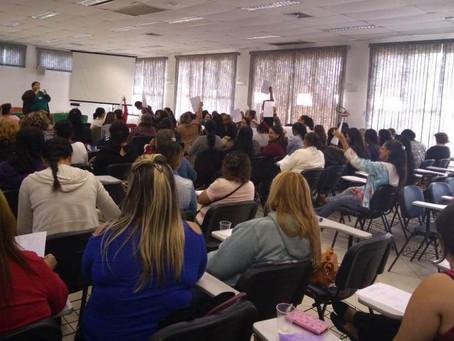 Prefeitura promove formação para profissionais que atuam nas Creches