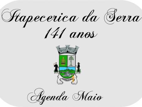 Agenda em comemoração aos 141 anos de Itapecerica da Serra