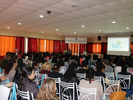 PREFEITURA PROMOVE I SEMINÁRIO DE EDUCAÇÃO PARA PROFISSIONAIS DE CRECHES