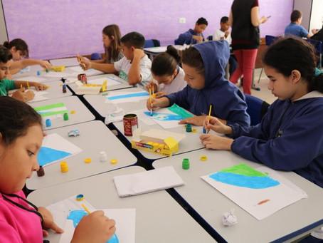 Prefeitura promove Oficina aos alunos das Escolas Municipais Guilhermina, Orquídea e José Pereira de