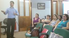 Primera reunión de maestros de escuela primaria I después de evaluaciones de diagnóstico externas.