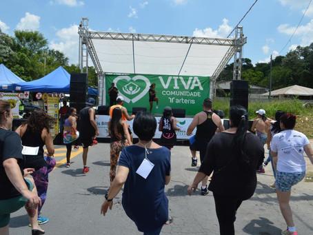 Ação 'Viva Comunidade' proporciona cidadania, saúde e lazer para a população itapecericana
