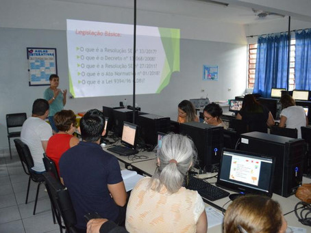 Secretaria Municipal de Educação de Itapecerica realiza 1º Treinamento para Operadores do Sistema SE