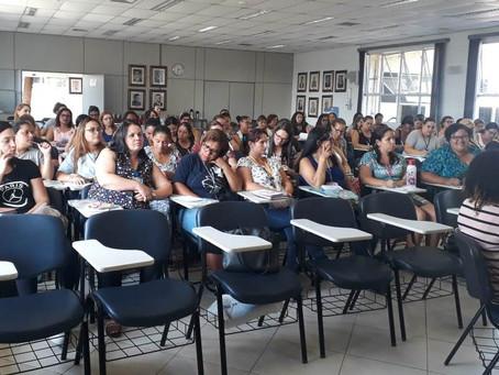 PROFESSORES DE EDUCAÇÃO INFANTIL DA REDE MUNICIPAL PARTICIPARAM DE FORMAÇÃO