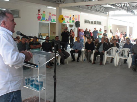 Prefeitura inaugura creche no bairro Cidade Santa Júlia