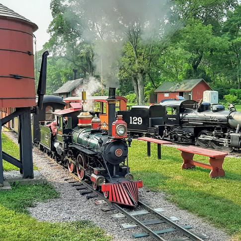 Engines 129 & 82