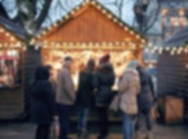 negozio natalizio