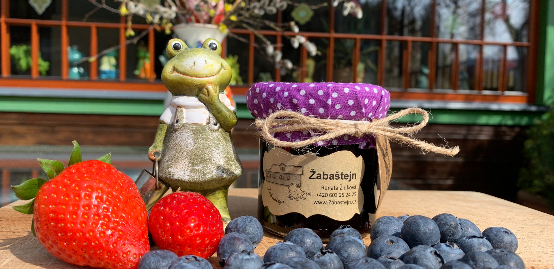 Žabaštejnské domácí marmelády - borůvková