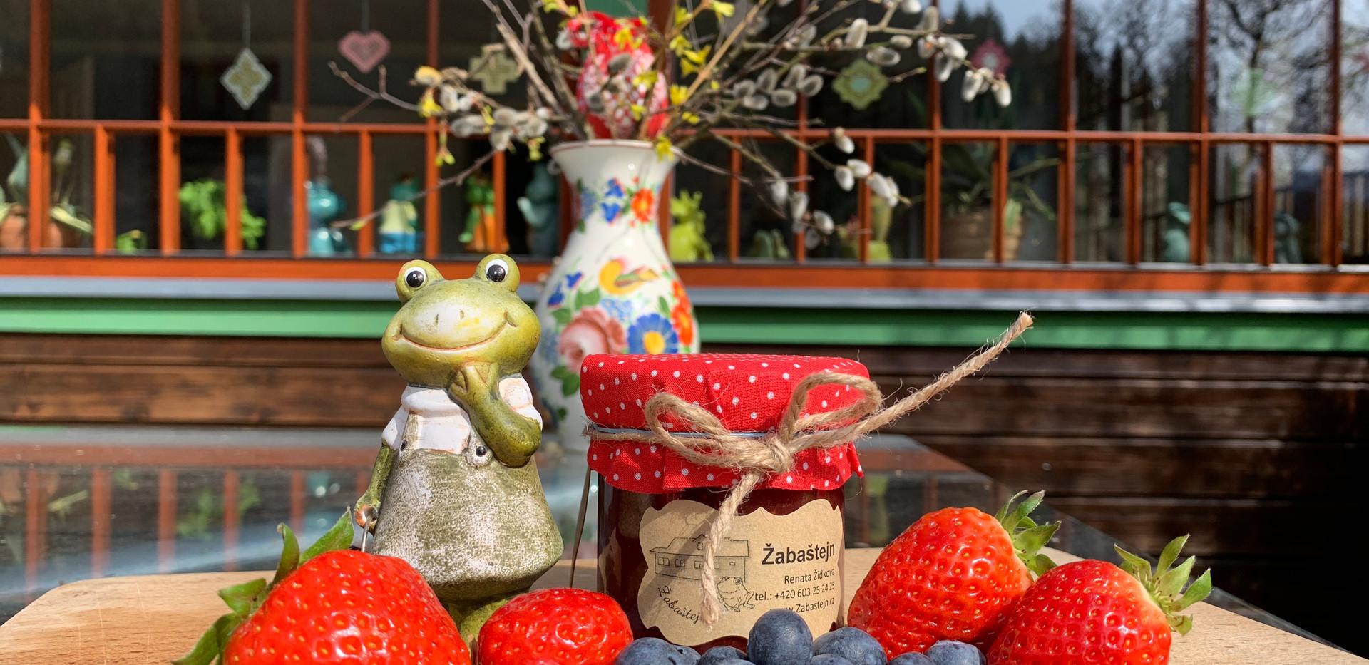 Žabaštejnské domácí marmelády - jahodová