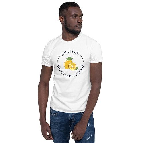 """Short-Sleeve """"Lemons"""" Unisex T-Shirt"""
