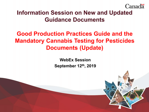 Updated Guidance on GPP and Pesticides