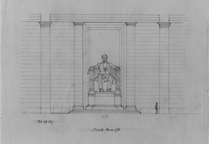 Lincoln Memorial Sketch 3