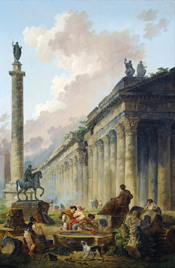 Imaginary View of Rome