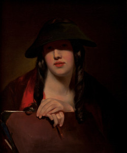 The Student (Rosalie Kemble Sully)