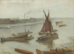 Grey and Silver -Old Battersea Reach