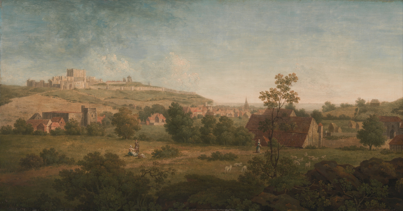 Landscape with Dover Castle