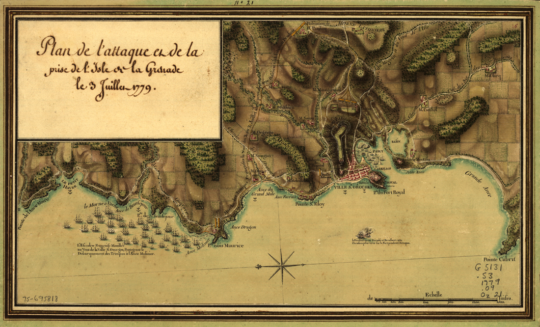 French Attack on Fort Royal