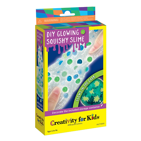 Creativity for Kids - DIY Glowing Squishy Slime Kit