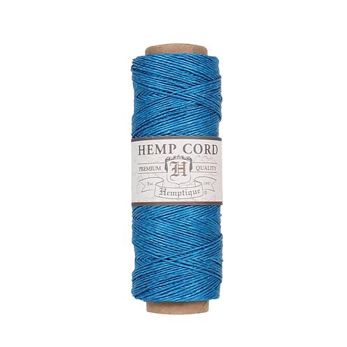 Hemptique Hemp Cord Spool - 10 lb. Turquoise