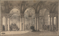 Somerset House, the Strand Vestibule