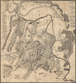 Bull Run Manassas Map