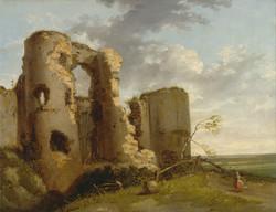 West Gate of Pevensey Castle