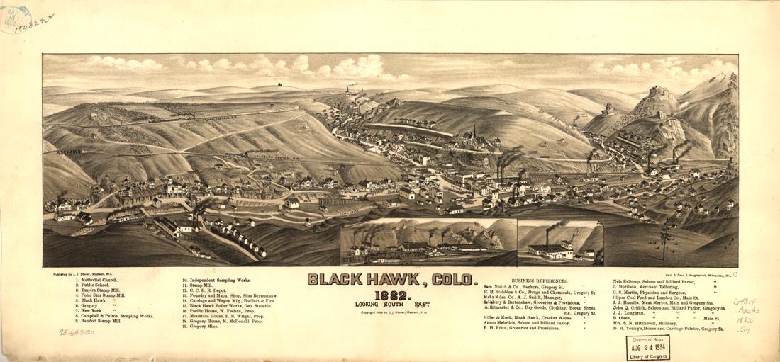 Black Hawk, CO