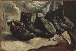 Three Pairs of Shoes, 1886
