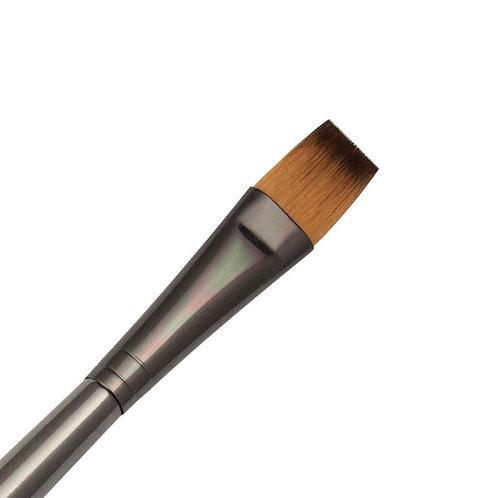 Zen Series 73 Synthetic All Media Short Handle Brush - Flat Shader 14