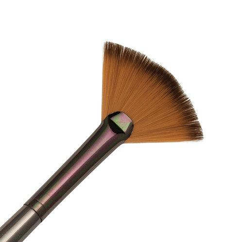 Zen Series 73 Synthetic All Media Short Handle Brush - Fan Blender 6