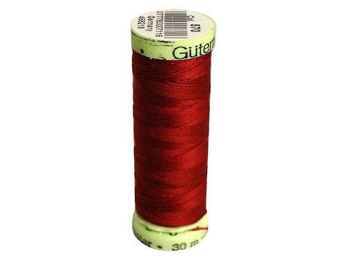 Gutermann Top Stitch Heavy Duty Thread 33 yd. #570 Rust