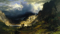 A Storm in the Rocky Mountains,_Mt