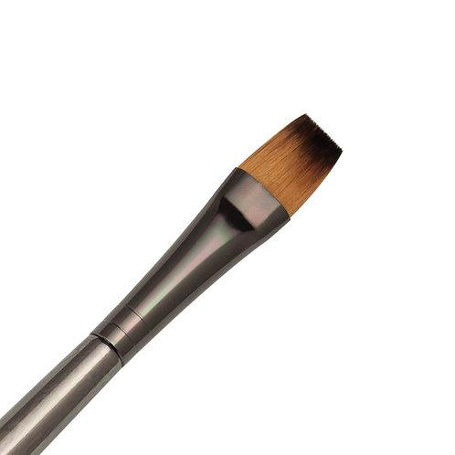 Zen Series 73 Synthetic All Media Short Handle Brush - Flat Shader 12