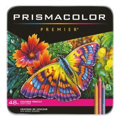Prismacolor Premier Thick Core Colored Pencil Set - 48