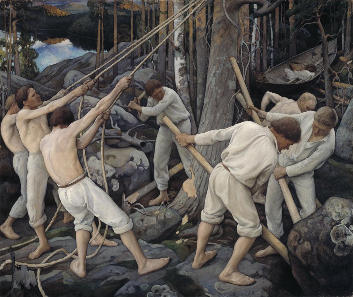 Pioneers in Karelia